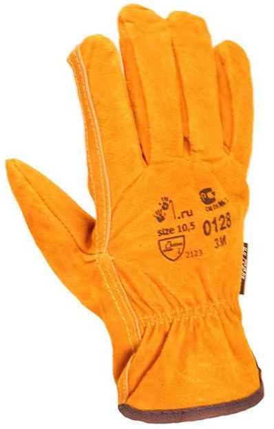 защитные перчатки 3M утепленные спилковые